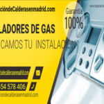 Instalador de gas en Madrid