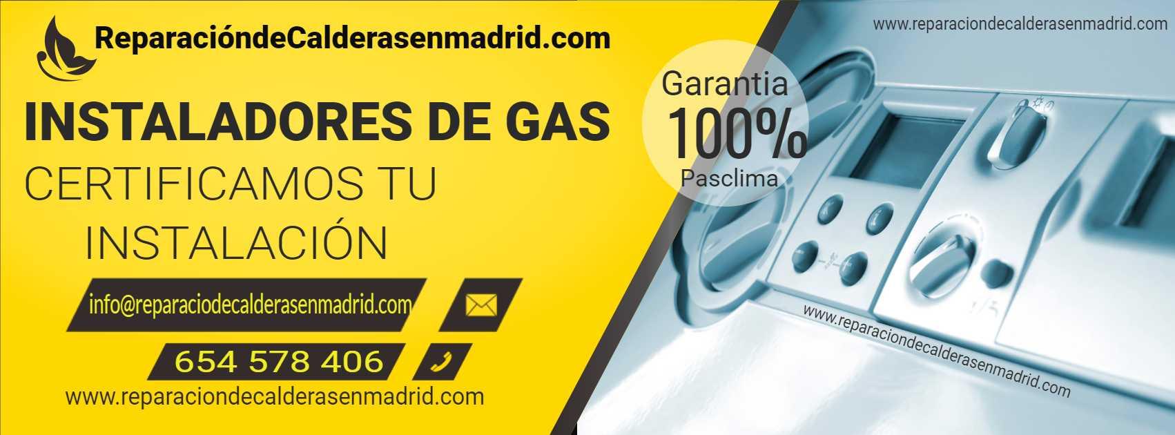 instalador de gas en madrid